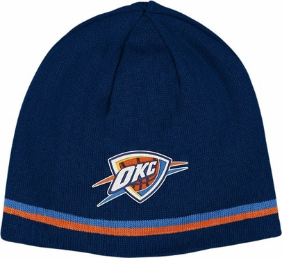 Oklahoma City Thunder Reversible Cuffless Knit Hat