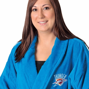 Oklahoma City Thunder UNISEX Bath Robe (Alternate Color)