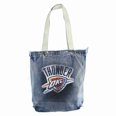 Oklahoma City Thunder Vintage Shopper (Denim)
