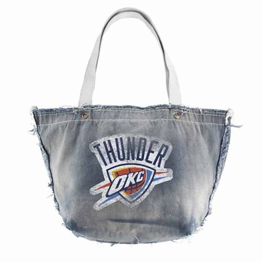 Oklahoma City Thunder Vintage Tote (Denim)
