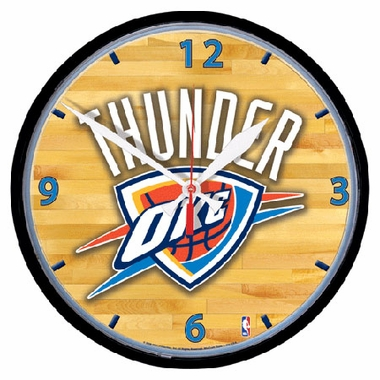Oklahoma City Thunder Wall Clock