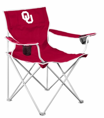 Oklahoma Deluxe Adult Folding Logo Chair
