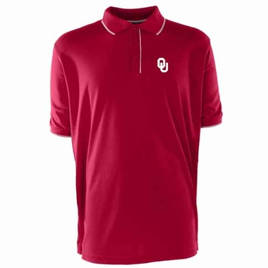 Oklahoma Mens Elite Polo Shirt (Color: Maroon)