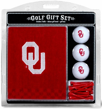 Oklahoma Embroidered Towel Gift Set