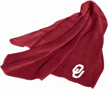 Oklahoma Fleece Throw Blanket