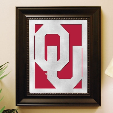 Oklahoma Framed Laser Cut Metal Wall Art