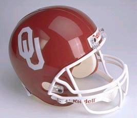 Oklahoma Full Sized Replica Helmet