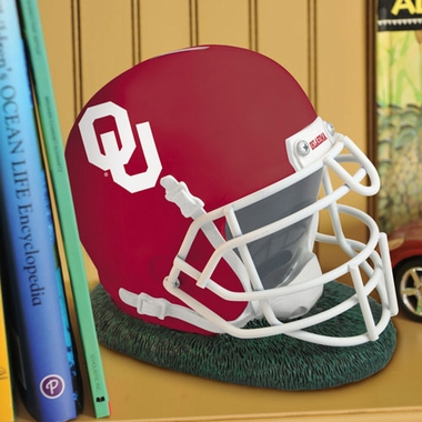 Oklahoma Helmet Shaped Bank