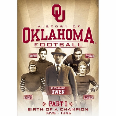 Oklahoma History of Oklahoma Football DVD