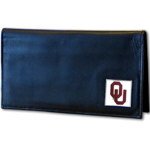 Oklahoma Leather Checkbook Cover (F)
