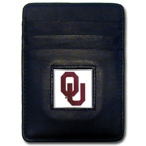 Oklahoma Leather Money Clip (F)