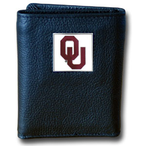 Oklahoma Leather Trifold Wallet