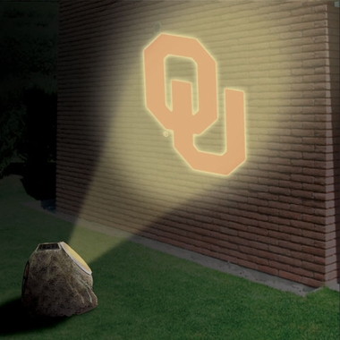 Oklahoma Logo Projection Rock