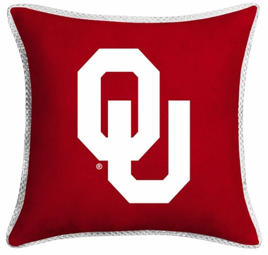 Oklahoma Microsuede Toss Pillow