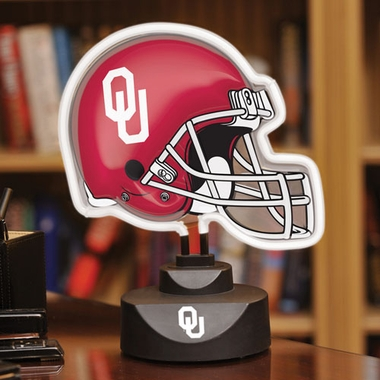 Oklahoma Neon Display Helmet