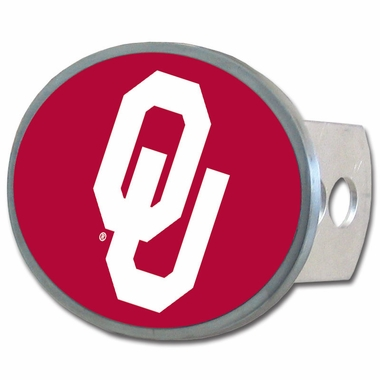 Oklahoma Oval Metal Hitch Cover