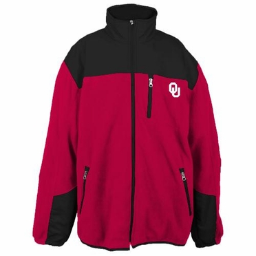 Oklahoma Poly Dobby Full Zip Polar Fleece Jacket
