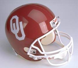 Oklahoma Riddell Full Size Authentic Helmet