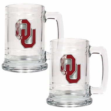 Oklahoma Set of 2 15 oz. Tankards