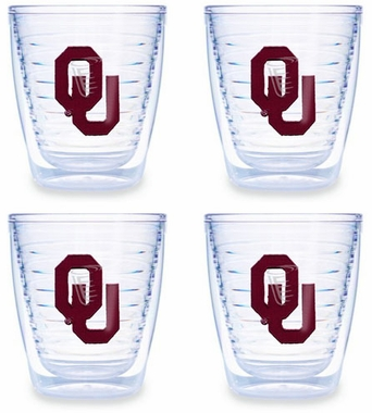 Oklahoma Set of FOUR 12 oz. Tervis Tumblers