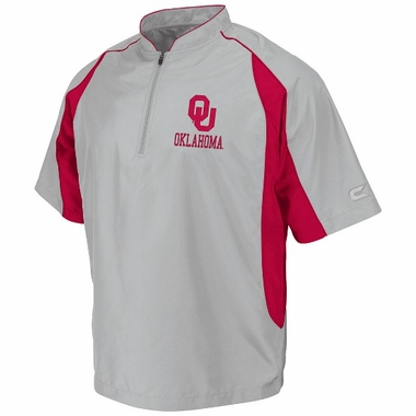 Oklahoma Slider Coaches Pullover 1/4 Zip Shirt