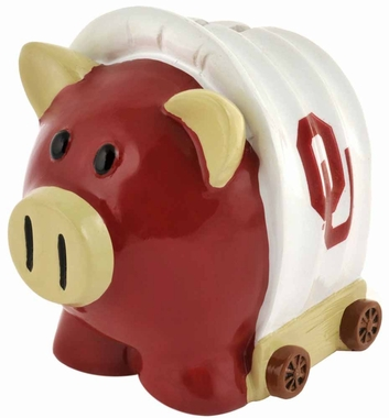 Oklahoma Sooners Piggy Bank - Thematic Small