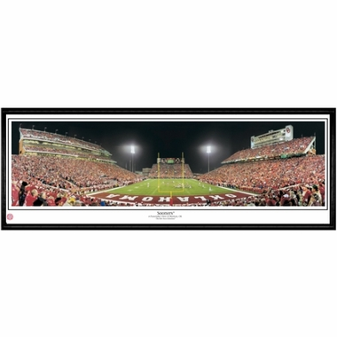 Oklahoma Sooners Framed Panoramic Print