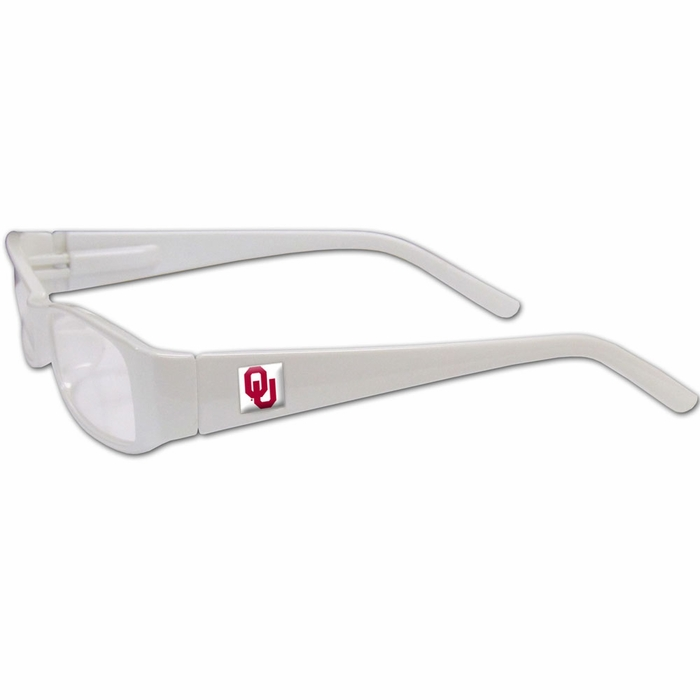 Oklahoma Sooners Reading Glasses +1.75 (F)