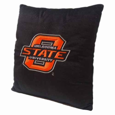 Oklahoma State 15 Inch Applique Pillow