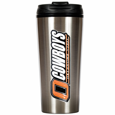 Oklahoma State 16 oz. Thermo Travel Tumbler