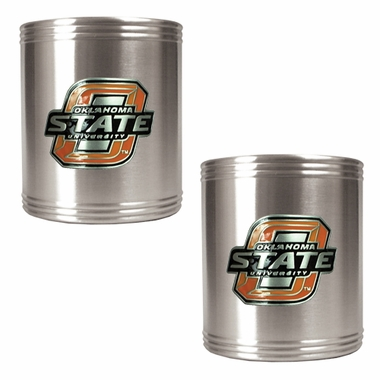 Oklahoma State 2 Can Holder Set