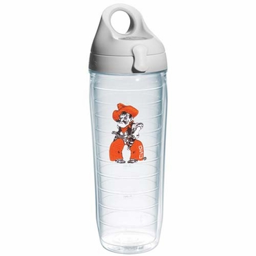Oklahoma State 25 oz Tervis Water Bottle