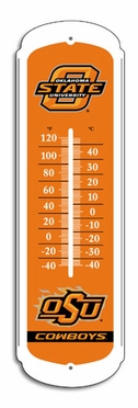 Oklahoma State 27 Inch Outdoor Thermometer (P)