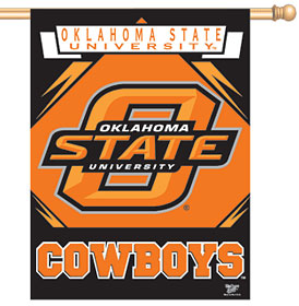 """Oklahoma State 27"""" x 37"""" Banner"""