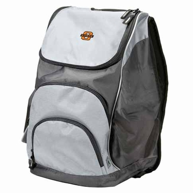 Oklahoma State Action Backpack (Color: Grey)