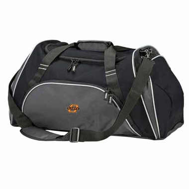 Oklahoma State Action Duffle (Color: Black)
