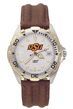 Oklahoma State All Star Mens (Leather Band) Watch