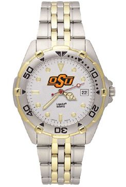 Oklahoma State All Star Mens (Steel Band) Watch