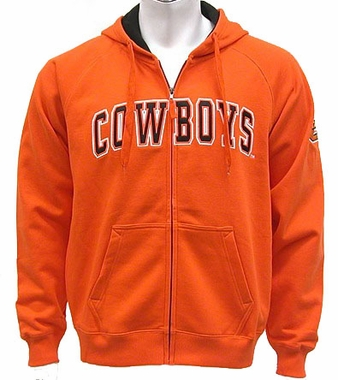 Oklahoma State Automatic Full Zip Hooded Sweatshirt (Team Color)
