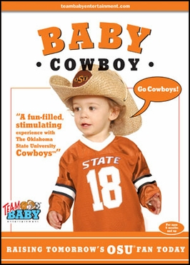 Oklahoma State Baby Cowboy DVD