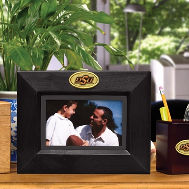 Oklahoma State BLACK Landscape Picture Frame