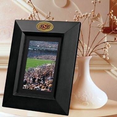 Oklahoma State BLACK Portrait Picture Frame