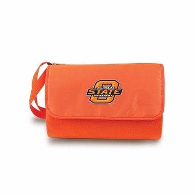 Oklahoma State Blanket Tote (Orange)