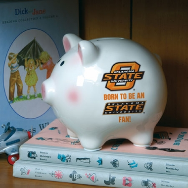 Oklahoma State (Born to Be) Piggy Bank