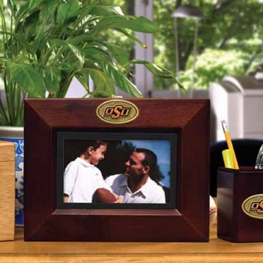 Oklahoma State BROWN Landscape Picture Frame