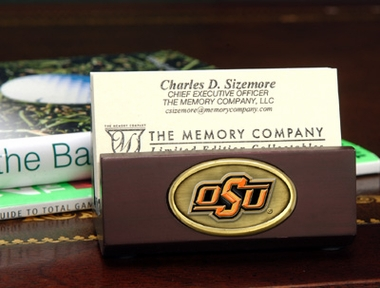 Oklahoma State Business Card Holder