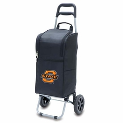 Oklahoma State Cart Cooler (Black)