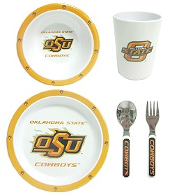 Oklahoma State Children's Dinner Set