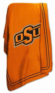 Oklahoma State Classic Fleece Throw Blanket