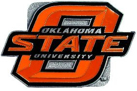 Oklahoma State Cowboys Hitch Cover Class 3